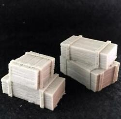 Crooked Dice 7TV Terrain 28mm Small Crate Stacks Pack New $4.09