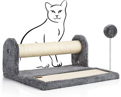 """PAWBEE Cat Scratching Post amp; Scratching Pad – 14.5"""" Cat Post amp; Scratching Board $33.41"""