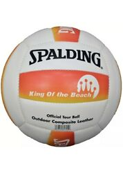 SPALDING VOLLEYBALL KING OF THE BEACH TOUR BALL OUTDOOR $12.59