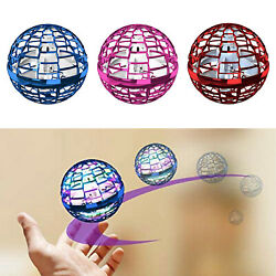 Hand Flying Ball Toys Rechargeable Interactive Mini Drone Helicopter Outdoor $28.12