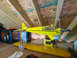 Piper Cub RC Airplane with 4 Stroke Engine and Servos $195.00