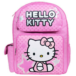 Hello Kitty Star Large Backpack $25.99