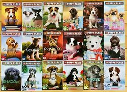 LOT Of 18 THE PUPPY PLACE Books By ELLEN MILES Chapter Scholastic Dog Animals $29.99