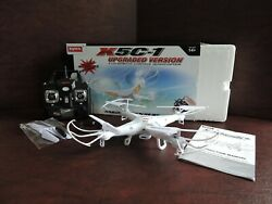 Syma X5C 1 Drone RC Quadcopter Upgraded Version with Camera. 15quot; Diam. $24.95