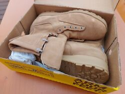 Belleville 775ST Cold Weather Safety Military Tan Steel Toe Boots Mens 13R $50.00