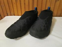 Merrell Shoes Alpine Moc Black Slip On Quilted Hiking Women#x27;s Size 7 $29.99