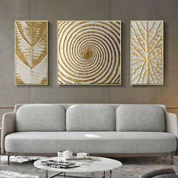 3Pcs Abstract Canvas Geometric Painting Living Room Home Wall Art Deco Frameless $11.69