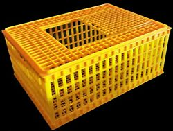 RITE FARM PRODUCTS HD29x21x12 POULTRY TRANSPORT 4H SHOW CAGE COOP CRATE CHICKEN $54.99