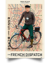 The French Dispatch Wall Art Decor Home Poster Full Size $18.95