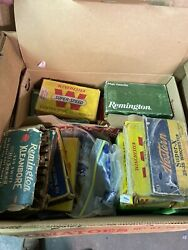 Winchester Remington Western And Other ammo boxes $300.00