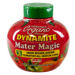 Dynamite Mater Magic Natural and Organic 8 5 5 Tomato Plants Fertilizer in a lbs $23.28