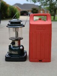 COLEMAN 1987 GAS LANTERN with CASE.Vintage ***see description**free shipping $75.00