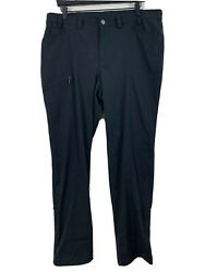 Women's Duluth 16x33 Athletic Outdoor Hiking Black Black Pants $19.99
