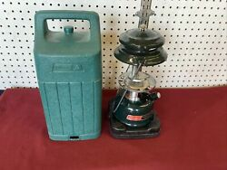 Vintage Coleman 08 92 Lantern 288A 2 Mantle With Carry Case 04 91 No Globe $39.50