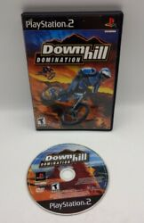 DOWNHILL DOMINATION Sony PlayStation 2 2003 GAME DISC amp; CASE PS2 $17.95
