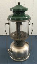 COLEMAN model 220B Double Mantle Antique LANTERN Made in USA Estate $200.00