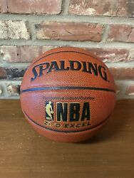 Spalding NBA Zi O Excel Basketball Official Size 7 29.5quot; Indoor Outdoor NEW $29.99