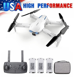 GoolRC S162 Foldable Drone WIFI FPV 1080P Wide Angle Camera GPS Quadcopter Gift $54.21