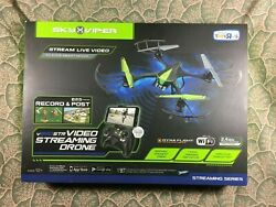 Sky Viper V950 Collectible Video Streaming Drone Skyrocket $39.99