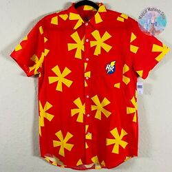 Disney Parks Chip and Dale Rescue Rangers Woven Button Shirt Medium $59.00
