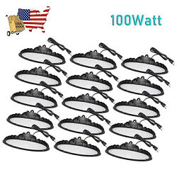 15Pcs 100W UFO Led High Bay Light Industrial Warehouse Commercial Light Fixtures