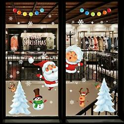 Christmas Window Cling Decals Christmas Wall Decorations Winter Xmas2 6 $12.67
