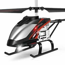 Mini RC Helicopter Remote Control Helicopter with Gyro and LED Lights for $44.04