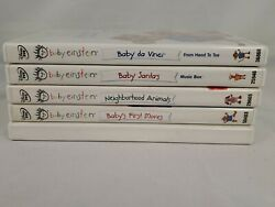 LOT OF 5 BABY EINSTEIN LEARNING DISKS GOOD USED $8.99