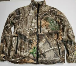 Milwaukee M12 Heated Camouflage Jacket Mens Large With Battery Charger Hunting $149.99