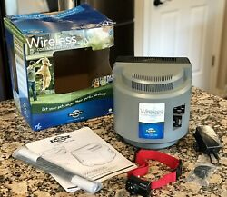 Petsafe Wireless Dog Fence Containment System PIF 275 300 Unused? EXCELLENT $149.95