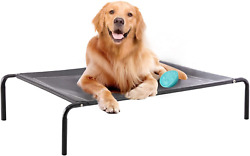 Western Home Outdoor Elevated Dog Bed Raised Dog Cot Bed for Extra Large $37.99