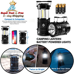 Outdoor Camping Hiking Accessories Battery Powered LED Lantern Emergency Light $29.61