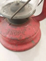 Vintage Chalwyn Tropic Oil looking Lamp Lantern Made in England battery operated $15.00