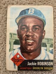 1953 Topps #1 Jackie Robinson *First Card in Set* $480.00
