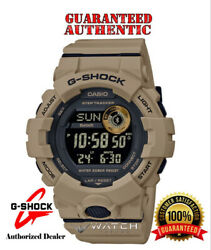 Casio G Shock GBD800UC 5 Bluetooth Connected POWER TRAINER Tan Watch $99.00