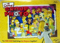 Simpsons™ GROUP PHOTO Card Game © 2003 USAopoly