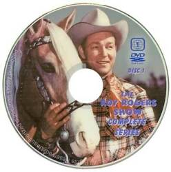 ROY ROGERS TV SHOW DVD COMPLETE SEASONS 1 6 NEW ALL 100 EPISODES BEST QUALITY $53.99