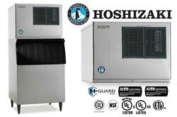 HOSHIZAKI COMMERCIAL ICE MACHINE CRESCENT WATER-COOLED CONDENSER KML-631MWH