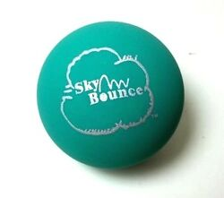 10 SKY BOUNCE GREEN COLOR HAND BALLS RACKET BALL NEW $16.99