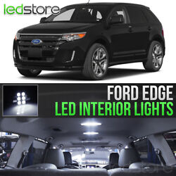 2007 2014 Ford Edge White LED Lights Interior Kit