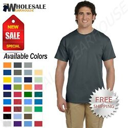 Gildan Mens Short Sleeves Heavy Weight Cotton 6 oz S 5XL T Shirt M G200 $7.70