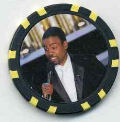CHRIS ROCK COLLECTOR CHIP $5.50