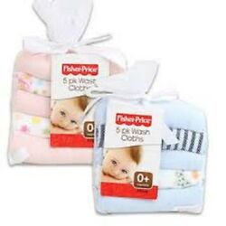 Fisher Price 5 pack washcloths Brand New $5.95