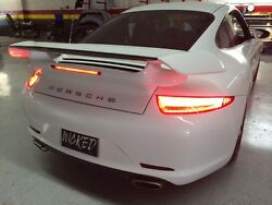 Porsche 991 style rear end conversion kit for early 1999 to 2004 Carrera 996