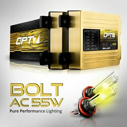 OPT7 AC 55w HID Kit Headlight Conversion All Bulb Sizes and Xenon Light Colors