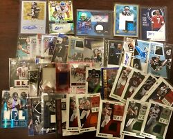 NFL Football Hot Pack Card Lot! AUTO Game Used Rookies and more! Extreme BV$$$ $9.99