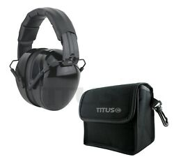 Titus Shooting Gun Range Tactical Noise Reduction High NRR Hearing Protection $16.99