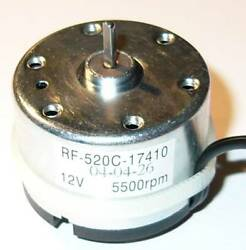 Small 12 V DC Toy Electric Low Power Generator 12 VDC with 6000 RPM Input $7.99