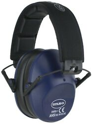 Titus Low Profile Ear Muffs 34 NRR Range Hearing Protection Noise Reduction ANSI $16.99