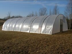 16 x 16 ft Quonset Greenhouse Kit - Hoop House - Cold Frame - High Tunnel